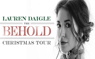 LAUREN DAIGLE announces Christmas Tour and deluxe album.