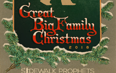 "Sidewalk Prophets launch their ""The Great Big Family Christmas Tour."""